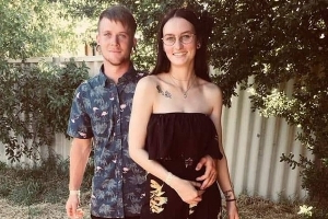 Frantic search for missing couple, 20 and 22, who vanished during a camping trip three days ago - as their abandoned car is found in bushland