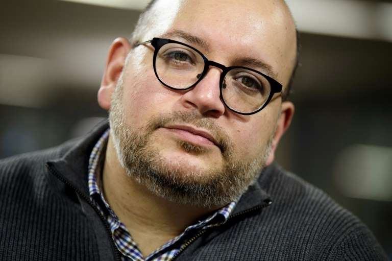 Jason Rezaian wearing glasses and looking at the camera: Jason Rezaian spent 544 days in an Iranian prison before he was released in January 2016 in exchange for seven Iranians held in the United States