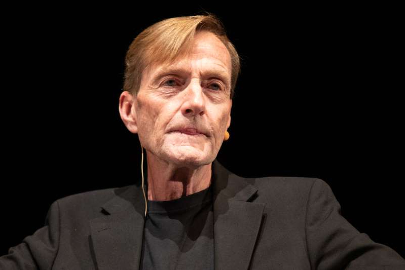 MILAN, ITALY - NOVEMBER 17: Author Lee Child attends the Bookcity Milan 2019 on November 17, 2019 in Milan, Italy. (Photo by Rosdiana Ciaravolo/Getty Images)