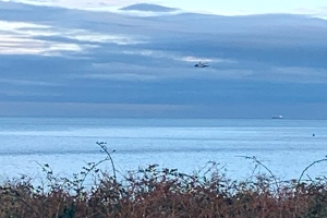 Search for pilot after reports of plane crash off North Wales coast