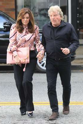 Slide 100 of 132: Lisa Vanderpump held hands with husband Ken Todd while out in West Hollywood on May 7.