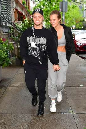 Slide 103 of 132: Victoria's Secret Angel Josephine Skriver and her musician boyfriend, The Cab's Alexander DeLeon, were all smiles as they held hands in New York City on May 9.