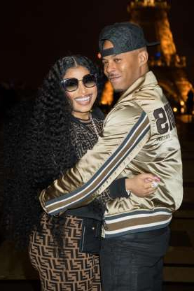Slide 109 of 132: Nicki Minaj and boyfriend Kenneth Petty shared a hug while out in Paris on March 9.