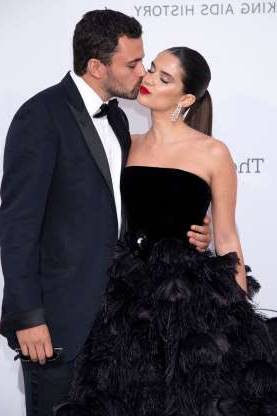 Slide 112 of 132: Sara Sampaio and Oliver Ripley shared a cute smooch while attending amfAR's 26th Cinema Against AIDS Gala in Cannes, France, on May 23.