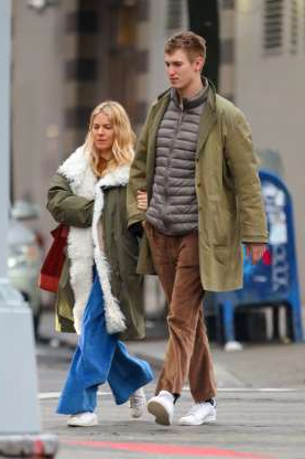 Slide 125 of 132: Sienna Miller and boyfriend Lucas Zwirner, the editorial director of publishing house David Zwirner Books, walked arm-in-arm in New York City on March 11.