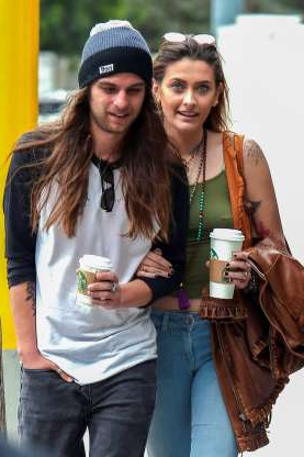 Slide 132 of 132: Paris Jackson looked happy and healthy while grabbing coffee with boyfriend Gabriel Glenn in Los Angeles on Feb. 1.