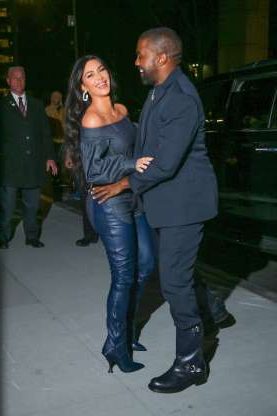 Slide 5 of 132: Kim Kardashian West and Kanye West couldn't keep their hands off each other as they arrived at the WSJ Innovators Awards at the Museum of Modern Art in New York City on Nov. 6.