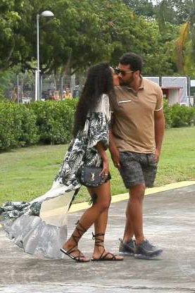 Slide 92 of 132: Ciara and Russell Wilson looked so cute while sharing a kiss in Rio De Janeiro, Brazil, on March 2.
