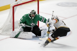 Stars tie record with 7th straight win, 4-2 over Vegas