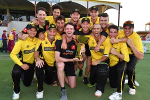 Western Australia beats Queensland by four wickets in one-day cup final in Brisbane