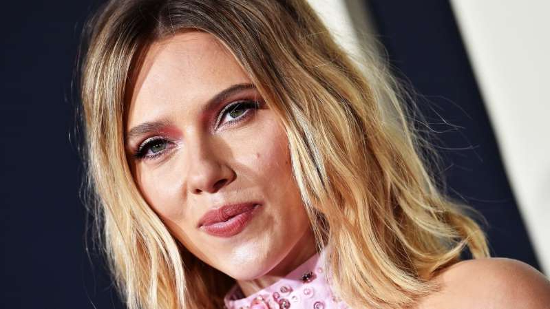 a close up of Scarlett Johansson: Axelle/Bauer-Griffin/FilmMagic