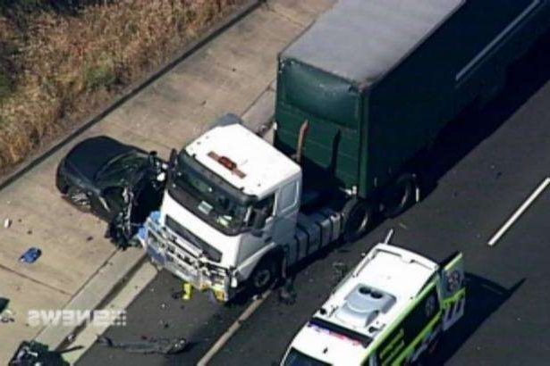 The fatal crash occurred in the east-bound lanes of the M5.
