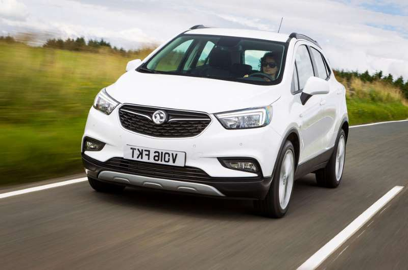 a car parked on the side of a road: Vauxhall Mokka X taken off sale with replacement a year away