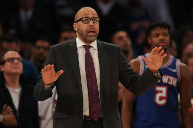 "Slide 13 of 26: For the New York Knicks, the 2019-20 NBA season was always more about head coach David Fizdale developing young players than it was about winning games. Why, then, did the Knicks figuratively throw Fizdale ""under the bus"