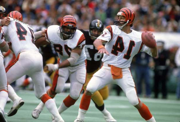 Slide 14 of 65: This was really tough. In both 1981 and 1988, the Bengals went 12-4. They went to the Super Bowl in both seasons and lost to the 49ers in both seasons as well, and their quarterback was the league MVP in both campaigns. Looking at the numbers, though, the 1981 season felt a smidge better, but we admit we are splitting hairs. Focus on Sport/Getty Images