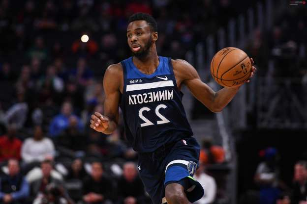 "Slide 4 of 26: Minnesota Timberwolves forward Andrew Wiggins, the same Wiggins known for accumulating empty-calorie points, was the leading candidate to win Most Improved Player after the first month of the 2019-20 NBA season. Over 11 appearances, the 24-year-old posted career marks in PPG (25.9), AST (3.6), REB (5.1), BLK (1.1), three-point shooting percentage (36.1) and field goal percentage (47.8). His improved shot selection following the regular-season opener led critics and observers to ask if this version of Wiggins can stay around for longer than a month. ""Watching Wiggins play his first few seasons, it made sense to wonder if he actually enjoyed playing basketball, or if it was just something he fell backward into because of his height and athleticism,"" wrote Micah Wimmer of Real GM. Wiggins seems energized and filled with purpose during games, which is the strongest indication that he won't revert to his previous ways once the winter months arrive.  Tim Fuller-USA TODAY Sports"