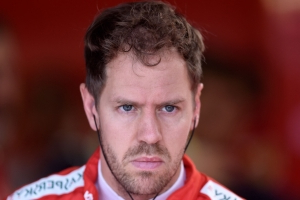 Vettel arriving late after birth of son