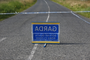 Gardai and emergency services at scene as cyclist hospitalised following crash in Churchtown