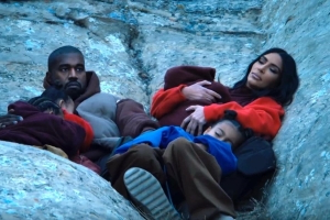 Kanye West drops 'Closed on Sunday' music video with Kim Kardashian and family
