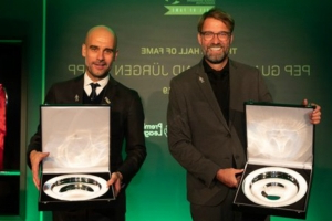 Pep Guardiola & Jurgen Klopp inducted into LMA Hall of Fame