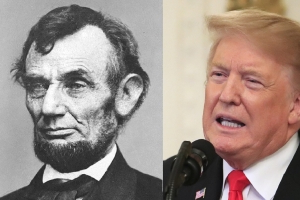 Poll: Majority of Republicans think Trump a better president than Lincoln