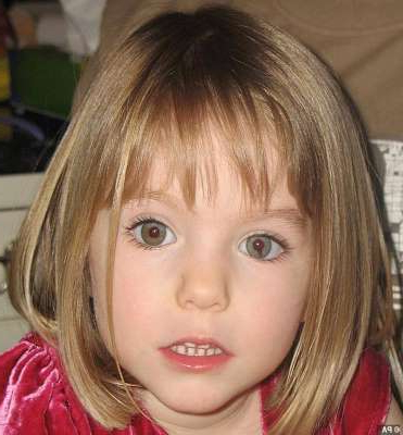 a close up of a little girl posing for the camera: Madeleine McCann disappeared from the Ocean Club resort in Portugal's Praia da Luz as a three-year-old in May 2007