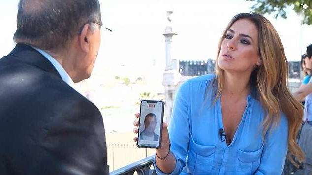 a man and a woman looking at the camera: He has revealed new details about why the new 'suspect' is being investigated - and made a fresh, false slur against the missing youngster's dad Gerry - in an interview with a Spanish TV station