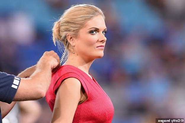Erin Molan wearing a red shirt: Peter Peters said he was especially critical of the network's inability to repair the feud between Andrew Johns and Erin Molan (pictured)
