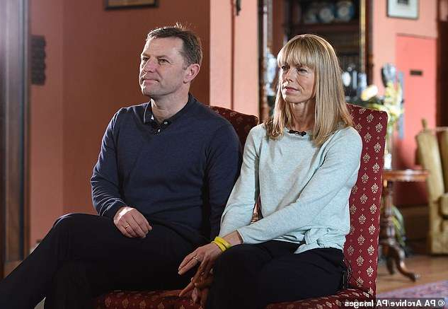 Hildegarde Handsaeme et al. sitting on a chair: The McCanns (pictured) have made a last-ditch attempt to the European Court of Human Rights after losing a libel fight against Mr Amaral in Portugal