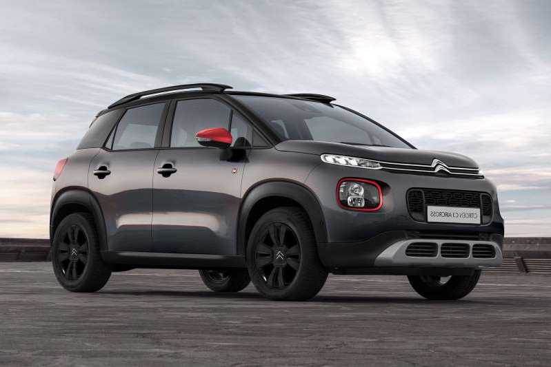 a car parked in a parking lot: Citroen C3 Aircross gets 'C-Series' special edition