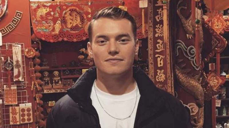 a person posing for the camera: Jack Merritt was stabbed to death on Friday. Pic: Instagram