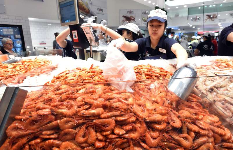 At least 130 tonnes of prawns and nearly one million oysters are expected to be bought at the Sydney Fish Markets this Christmas.