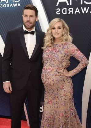 Slide 1 of 173: Country music star Carrie Underwood is a mom again!