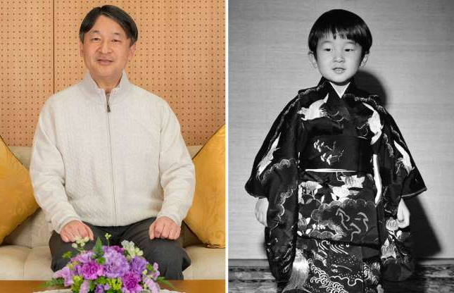 Slide 1 of 41: In this Feb. 17, 2019 photo provided by the Imperial Household Agency of Japan, Japan's Crown Prince Naruhito poses for a photo at his residence Togu Palace in Tokyo. Naruhito celebrates his 59th birthday on Saturday, Feb. 23, 2019.