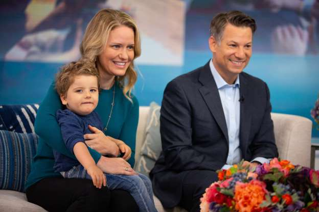 Slide 125 of 173: NBC News chief foreign correspondent Richard Engel and wife Mary Forrest are now parents of two. The couple welcomed son Theodore Forrest Engel over the weekend of Aug. 17, Richard revealed to the