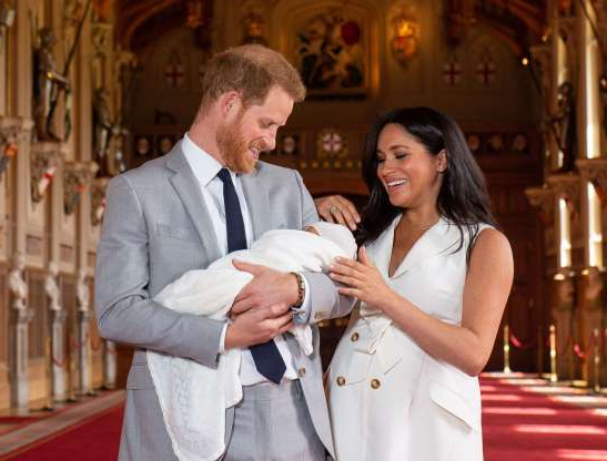 Slide 2 of 173: Prince Harry and Duchess Meghan welcomed their first child, a son, on May 6, 2019. Their baby boy weighed 7 pounds, 3 ounces.