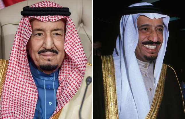 Slide 21 of 41: Saudi Arabia's King Salman bin Abdulaziz attends the opening session of the 30th Arab League summit in the Tunisian capital Tunis on March 31, 2019.