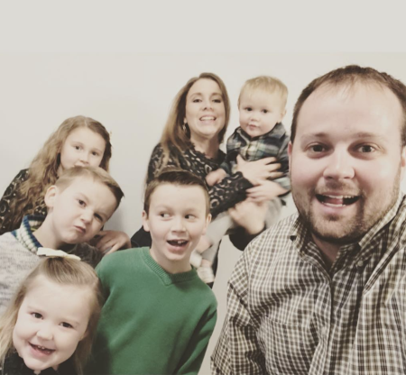 Slide 30 of 173: On Nov. 27, the Duggar family grew again: Josh Duggar and wife Anna welcomed their sixth child, a daughter who joins siblings Mackenzie, Michael, Marcus, Meredith and Mason.