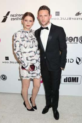 Slide 46 of 173: Kate Mara and husband Jamie Bell welcomed their first child, a daughter, in May, the