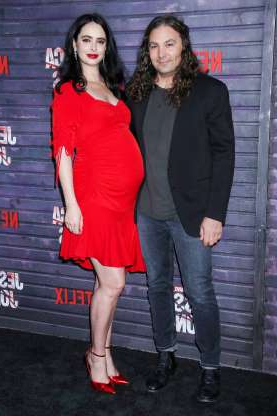 Slide 49 of 173: Krysten Ritter and longtime love Adam Granduciel, the frontman for the band War on Drugs, are parents! The