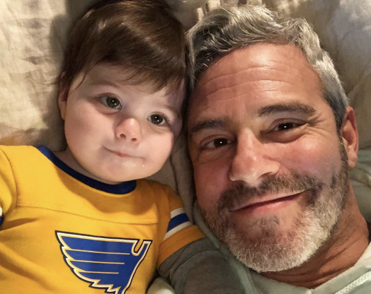 Slide 5 of 173: Bravo's Andy Cohen welcomed his first child on Feb. 4.