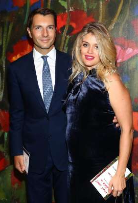 Slide 58 of 173: Daphne Oz is a mom for the fourth time!