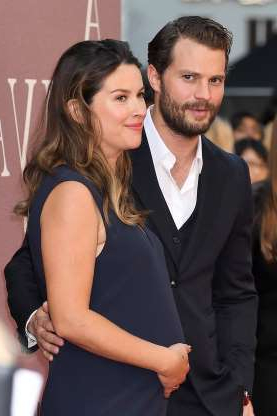 Slide 67 of 173: Actor Jamie Dornan and musician-composer wife Amelia Warner recently welcomed their third daughter, she revealed on March 31 -- the day Britain celebrates Mother's Day.