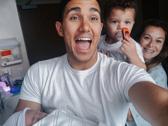 Slide 83 of 173: Alexa PenaVega and husband Carlos PenaVega welcomed their second son, Kingston James, on June 30, they announced on Instagram a few days later along with a family selfie.