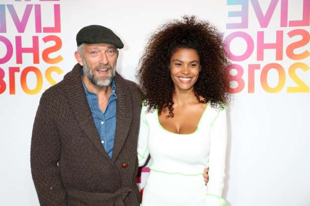 Slide 98 of 173: On April 19, French actor Vincent Cassel, 52, announced that he and his new wife, model Tina Kunakey, 22, had welcomed their first child together, a daughter.