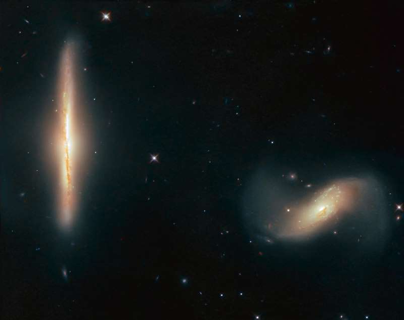 a star in the middle of the night: galaxies