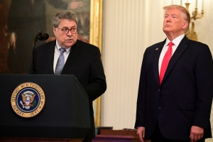 Barr doesn't accept key inspector general finding about FBI's Russia investigation