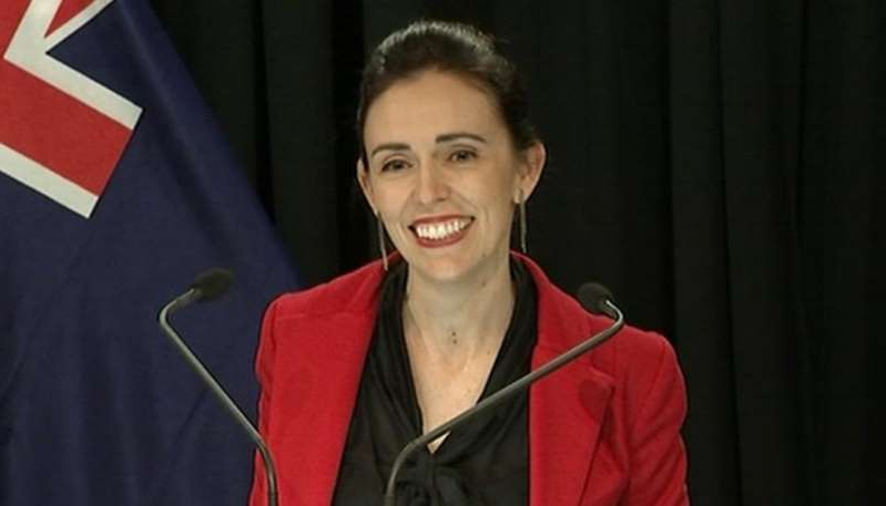 Jacinda Ardern smiling for the camera: Watch: Climate change an 'extraordinary threat', Jacinda Ardern warns United Nations