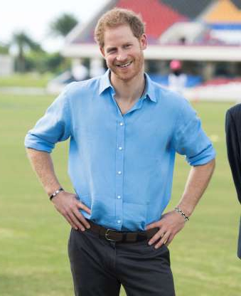 Slide 10 of 36: Prince Harry attends a Youth Sports Festival at the Sir Vivian Richards Stadium on the second day of an official visit on November 21, 2016 in Antigua, Antigua and Barbuda.