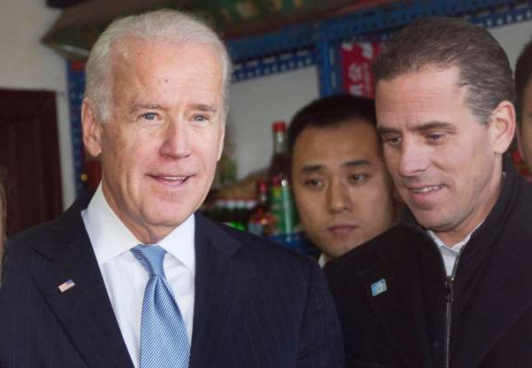 Slide 8 of 74: The whistleblower alleges that Trump had demanded Ukrainian investigations into Joe Biden and his son Hunter Biden's business involvement in Ukraine. Seen here, then U.S. Vice President Joe Biden tours a Hutong alley with his son Hunter Biden in Beijing, China, on Dec. 5, 2013.